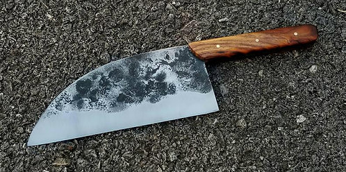 Handmade D2 Steel Serbian Kitchen Chef knife / outing