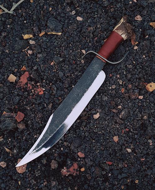 Handmade Carbon Steel Big Bowie knife