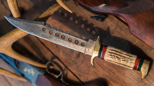 Antler Horn Bowie Knife