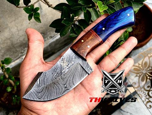 Full Tang Damascus steel Hunting Knife