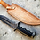 Thumbnail: DAMASCUS FORGED BOWIE KNIFE