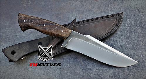 Handmade 1095 Acids wash Hunting knife
