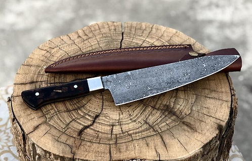 Handmade Damascus Steel Kitchen Chef Knife