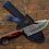 Thumbnail: Damascus Steel Gut Hook Knife