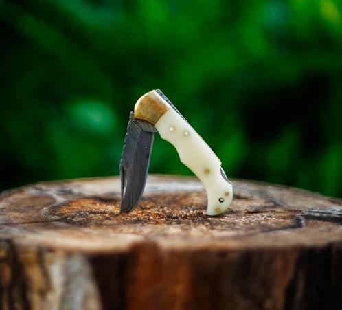 Damascus Steel Folding/Pocket Knife