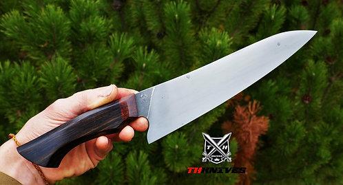 Handmade Carbon Steel Acid Wash Kitchen Chef knife