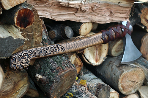 VIKING AXE HAND FORGED SV044