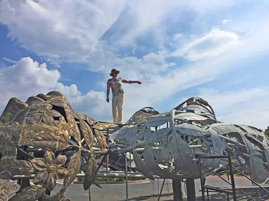 Linda Brunker work Gaia Garden.jpg