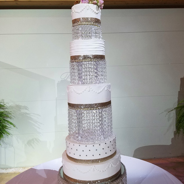 crystal wedding.