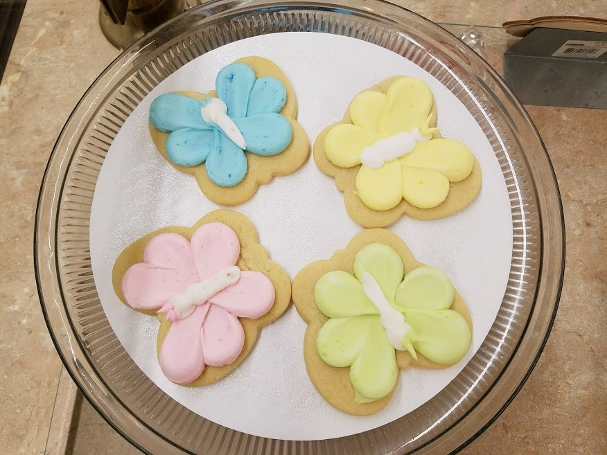 cookies butterfly
