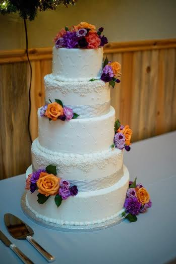 pearl and rose wedding