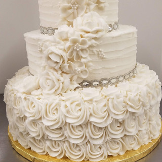 buttercream and jewels