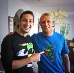 With World Champion Mick Fanning