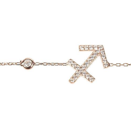 Zodiac Horoscope Star Sign Bracelet Sagittarius