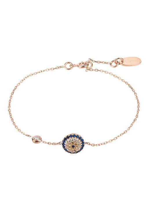 Evil Eye Bracelet Rosegold