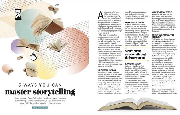 5 ways you can master storytelling.