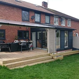 lean to house extensions