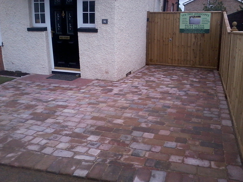 block paved driveway cost