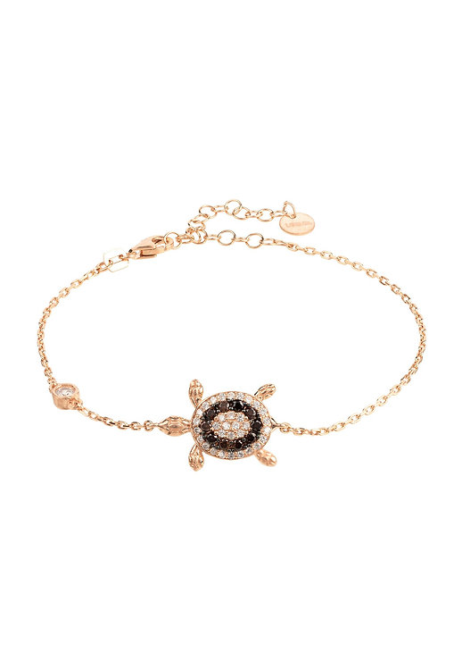 Turtle Chocolate Bracelet Pink Rosegold