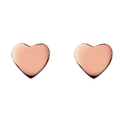 Cosmic Mini Heart Stud Earring
