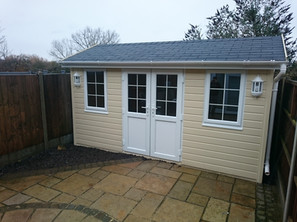 Garden Studio 2.4 m x 4.2m, Garden Office, Summer House PVC Option