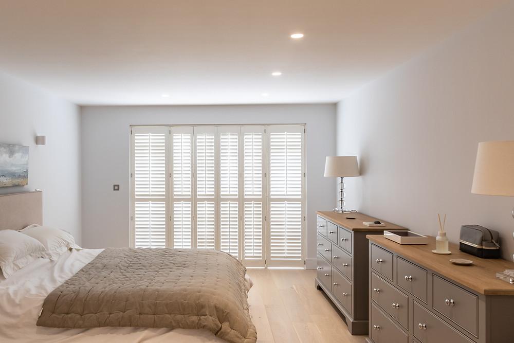 bedroom shutters for windows