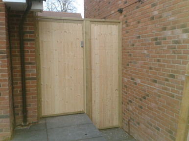 Wooden Gates and Fencing Whitehill