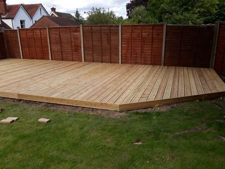 How to Lay Garden Decking