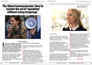 The Silent Communicator - How to Master the Art of Speaking without using language