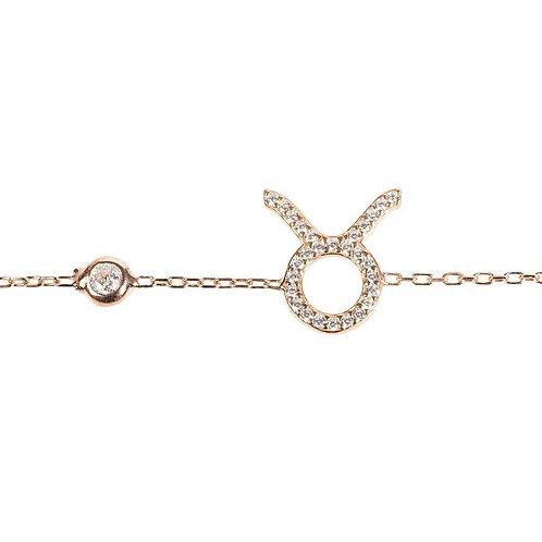 Zodiac Horoscope Star Sign Bracelet Taurus