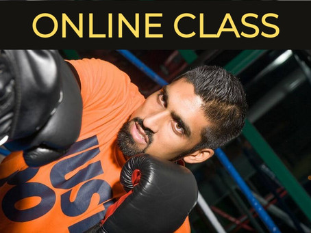 Online Boxing Classes & Fitness Workouts to help you keep healthy during the Lockdown.