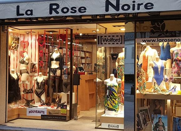 LA ROSE NOIRE - Lingerie à Chantilly