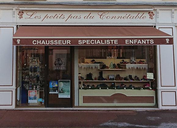 Les petits pas du Connétable - Chaussures à Chantilly