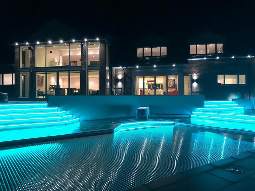 Smart Pool Lighting Designed by IntelliCasa