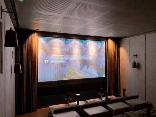 The Art of Creating a  Bespoke Home Cinema.