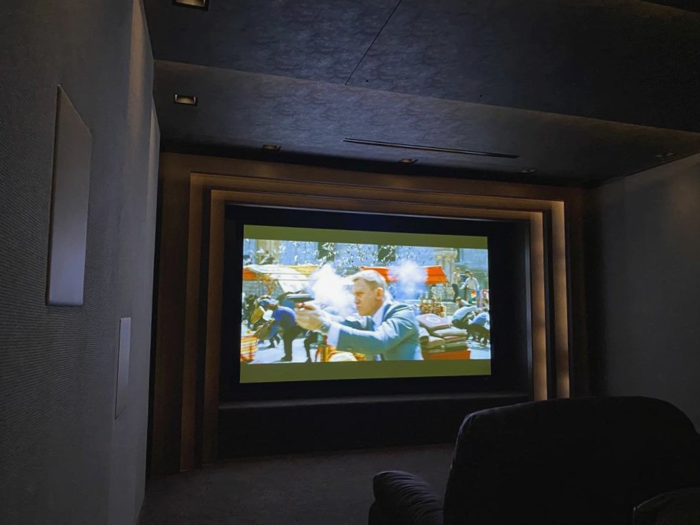 Bespoke home cinema and smart lighting design by Intellicasa