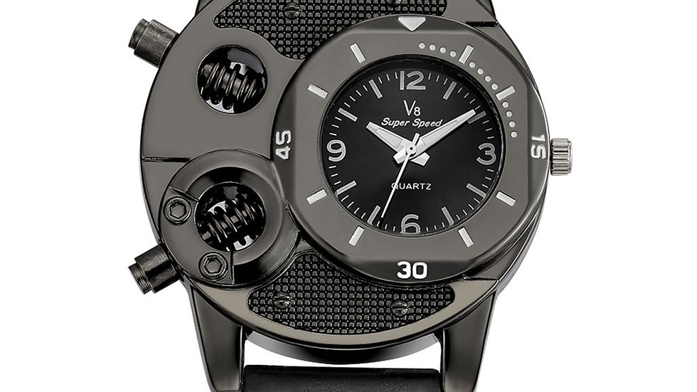 Mens Watches Top Brand Luxury V8