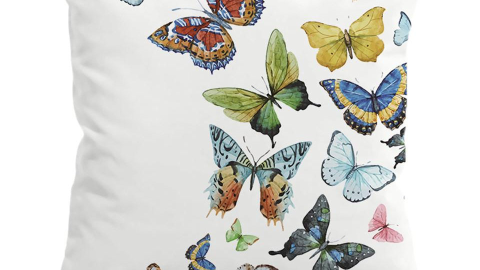 Flying Butterflies Cushion Cover  Pillow Case