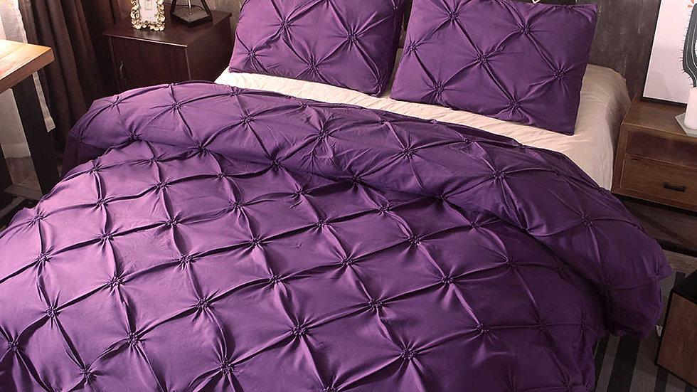 Comforter Bedding Set Silk Flower Bed Sheets And