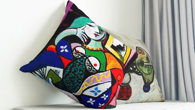 Pablo Picasso Decor Decorative Throw Pillow Cover