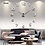 Thumbnail: 3d Luminous Real Big Wall Clock Rushed Mirror Sticker