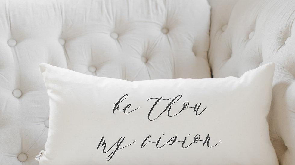 Be Thou My Vision Lumbar Pillow