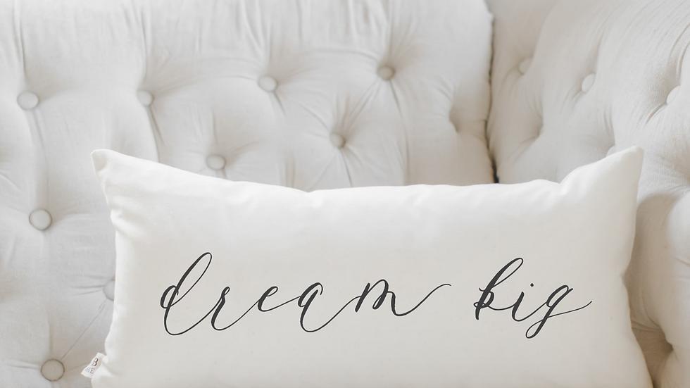 Dream Big Lumbar Pillow