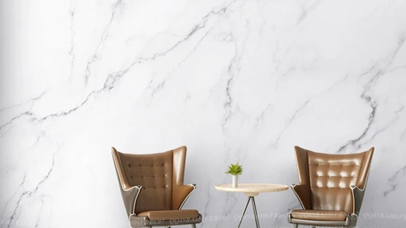 Nordic Ins Simple Wallpaper Marble Wallpaper