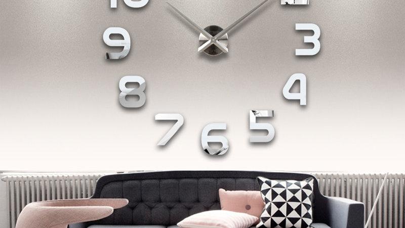 New Clock Watch Wall Clocks Horloge 3d
