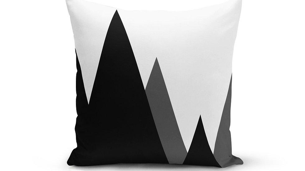 Modern Mountains Pillow Cover