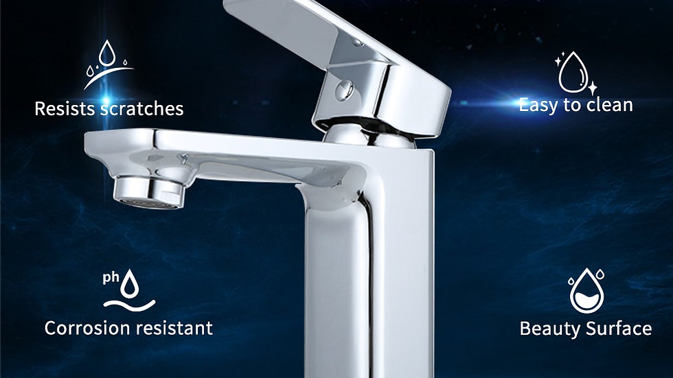 Single Handle Bathroom Faucet And Cold Water