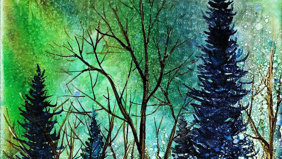 Ethereal Night Landscape : Prints