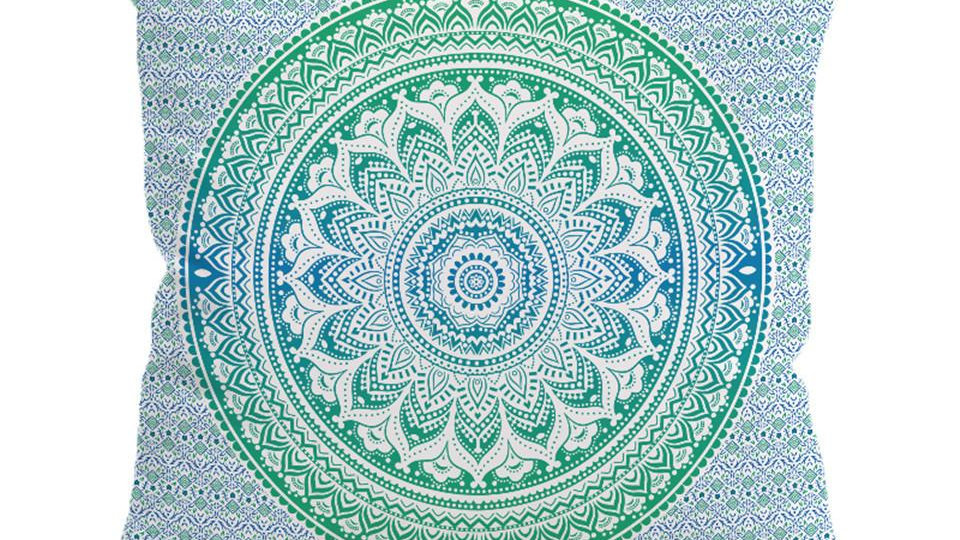 Mandala Flower Cushion Cover Pillow Case Bohemia
