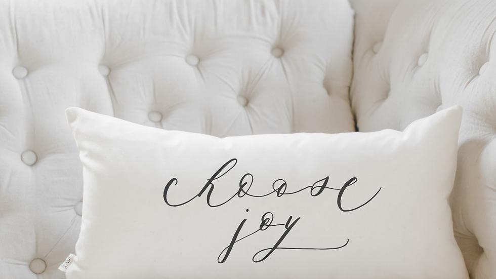 Choose Joy Lumbar Pillow